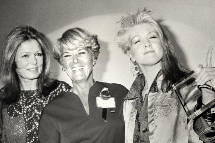 Gloria Steinem, Geraldine Ferraro & Cyndi Lauper