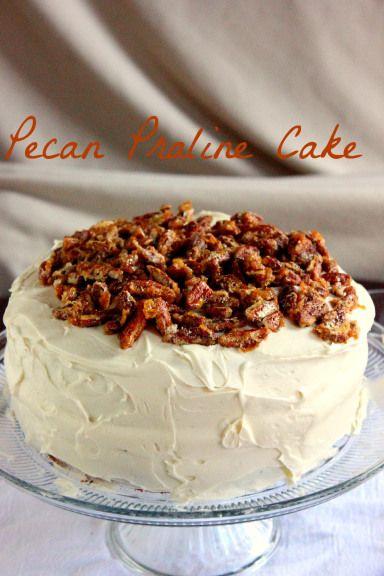Praline Pecan Cake | Recipes-Cakes | Pinterest