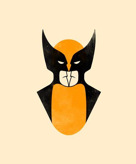 Featured Artist – Olly Moss illustrator #hero #comics