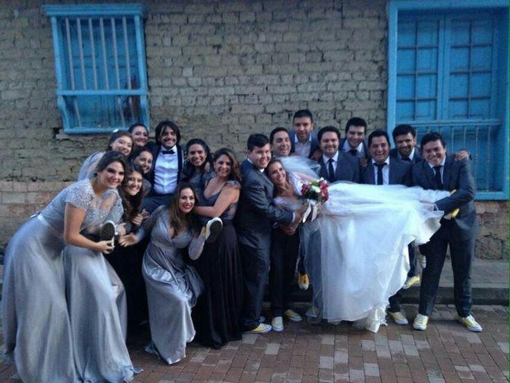 Damas de honor padrinos madrinas boda matrimonio