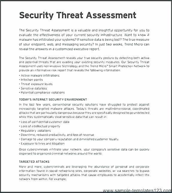Network Infrastructure Assessment Template In 2020 Report