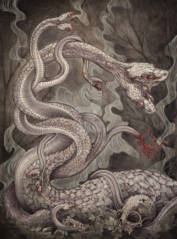 Hydra by CaitlinHackett on DeviantArt