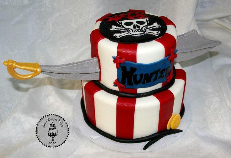 Pirate birthday cake 380855_268703956520640_3602006_n.jpg (960×658)