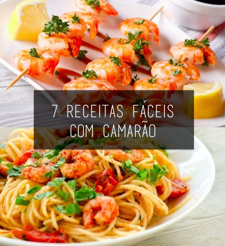 O camarão é um dos frutos do mar mais populares na cozinha brasileira e é uma delícia. Se você acha que o ingredientes só combina com pratos complicados, está enganado. Que tal aprender 7 receitas muito fáceis com camarão?