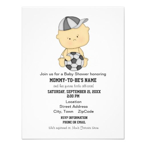 456 best Sports Baby Shower Invitations images on Pinterest Baby - email baby shower invitation templates