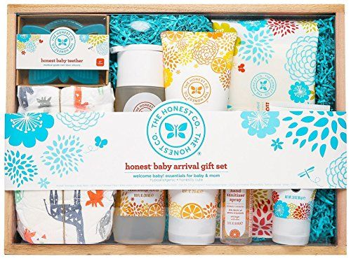 Honest Baby Arrival Gift Set. For product info go to: https://all4babies.co.business/honest-baby-arrival-gift-set/