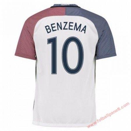 Frankrike 2016 Karim Benzema 10 Bortedrakt Kortermet. http://www.fotballpanett.com/frankrike-2016-karim-benzema-10-bortedrakt-kortermet-1. #fotballdrakter