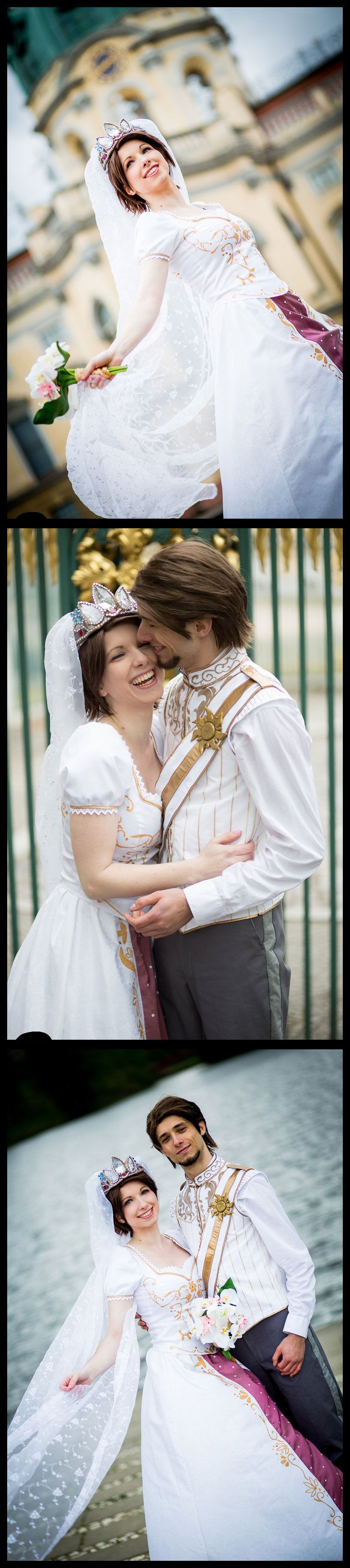 Location: Charlottenburg Castle, Berlin Fandom: Tangled Ever After (Disney) http://rayi-kun.deviantart.com/art/Happily-Ever-After-369254042