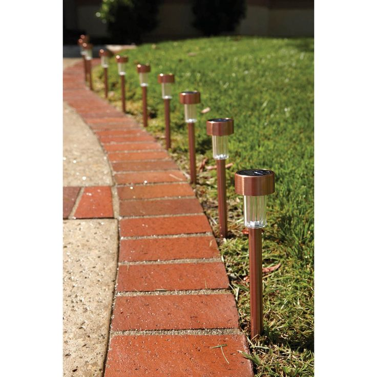 solar path lights led duracell pathway reviews copper piece yard amazon