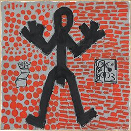 A. R. Penck, Standart, 1971, Staatsgalerie Stuttgart, ©VG Bild-Kunst, Bonn 2015