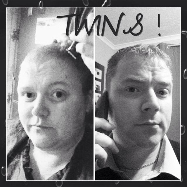 After shaving my hair found out me and my little brother are very very alike X