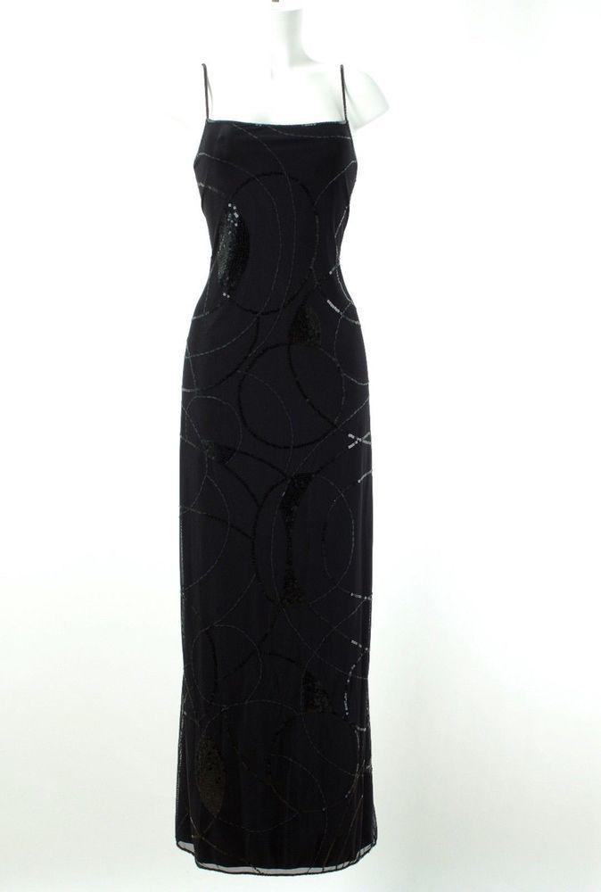 LAUREL Kleid Gr. 38 Abendkleid Party Cocktailkleid Trägerkleid Paillettenkleid