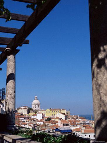 Miradouro De Santa Luzia - Moorish Quarter, Alfama, Lisbon