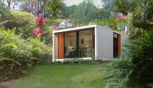 Designed by HonoMobo, these prefab shipping container homes come in 3 different sizes and layouts making them the perfect choice for a Laneway Home, guest suite, or as a stand...