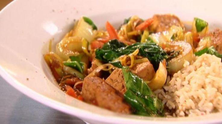 Wok met tofu en paksoi | VTM Koken