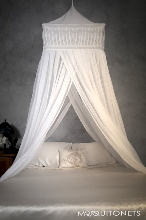 Cotton Mosquito Nets and Bed Canopies. Silk Mosquito Nets and Bed Canopies.  Polyester Mosquito