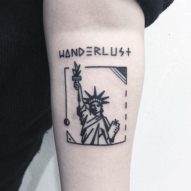 ✖️Statue of Liberty✖️ . . . #StatueofLibertytattoo #자유의여신상타투 #타투 #그림 #아트 #그림타투 #드로잉 #스케치 #디자인 #일러스트 #블랙 #블랙타투 #tattoo #design #drawing #greemtattoo #sketch #draw #tattooflash #blackink #ink #tattooart #illustration #black #blackwork