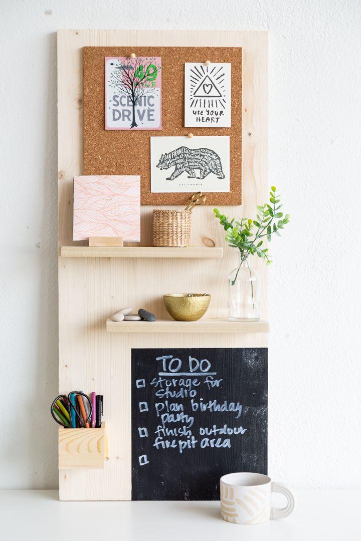DIY Wall Organizer Board