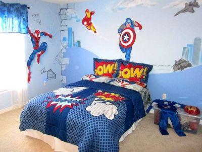 Fotos de Dormitorios Súper Héroes