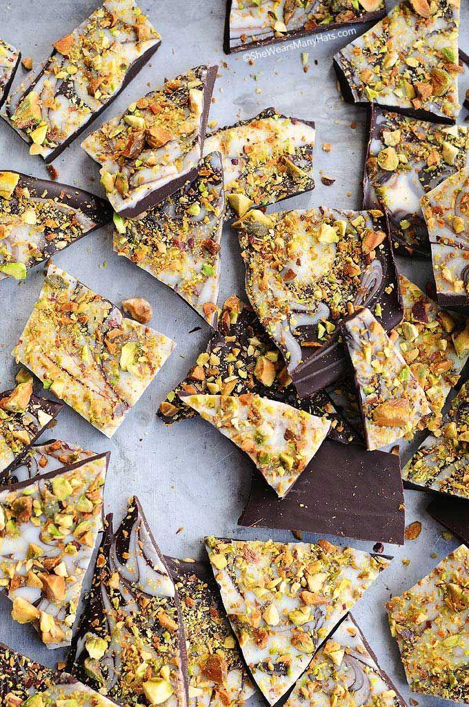 pistachio bark
