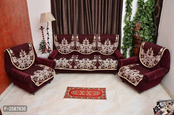 5 Seater Cotton Set Of 6 Sofa Covers