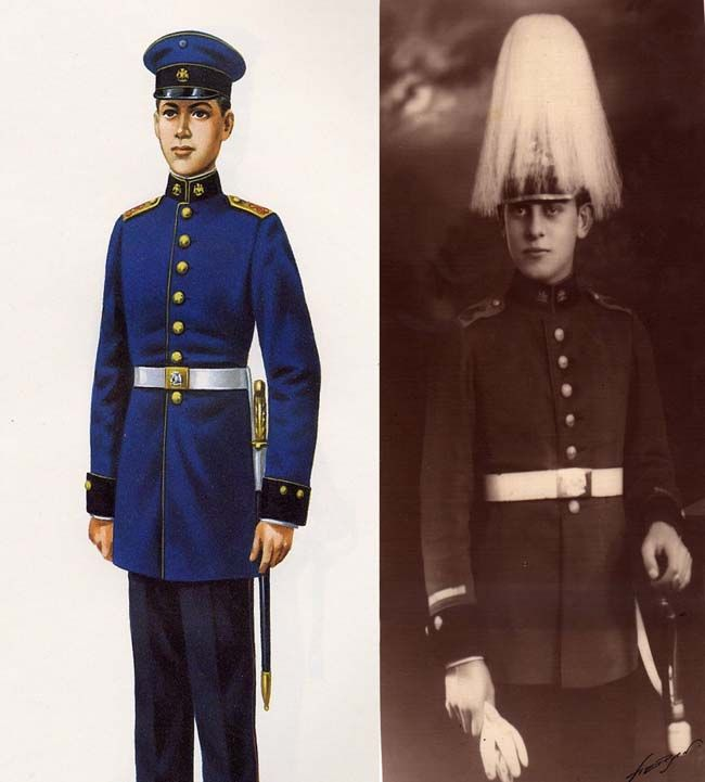 Colonel J's - Articles -Latin American Left: Cadet, Military Academy, 1920. Right: Cadet, 1920.
