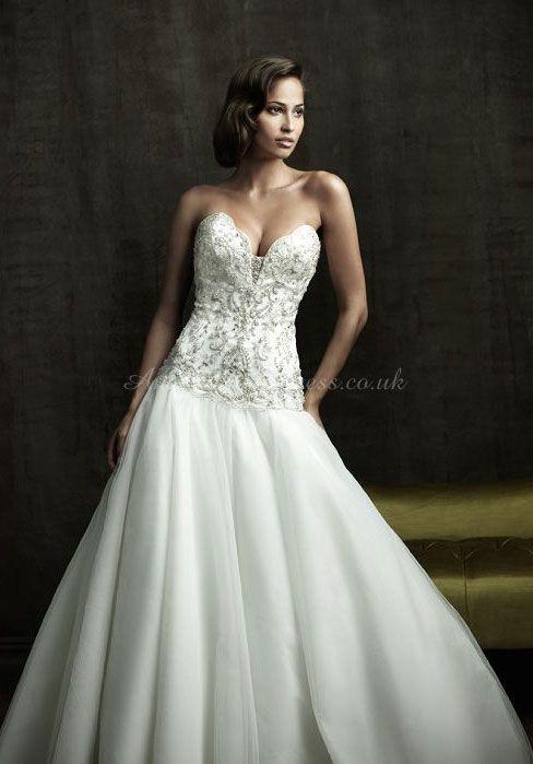 #vestido de #novia en dos partes