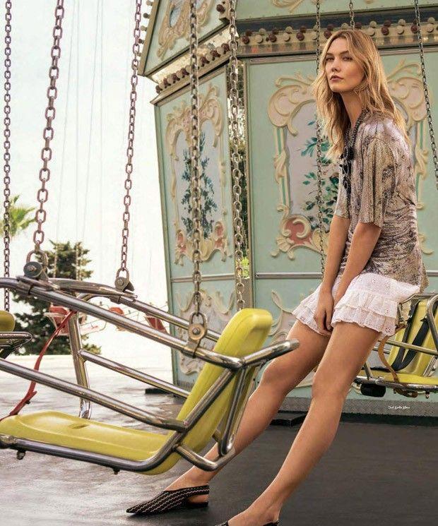 Карли Клосс в S Moda Magazine (Интернет-журнал ETODAY)