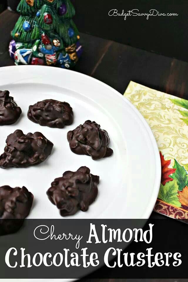 Dark Chocolate Pretzel Clusters Recipe — Dishmaps
