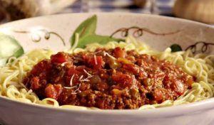sauce spaghetti steak hache boeuf
