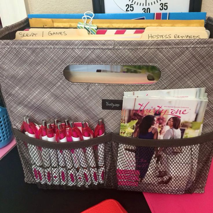 Thirty-One Fold N' File - use it for your mobile office! Check it out! http://www.mythirtyone.com/mariagdiaz
