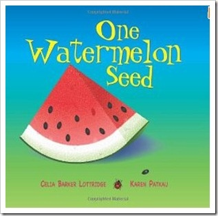 Watermelon themed books and activities.