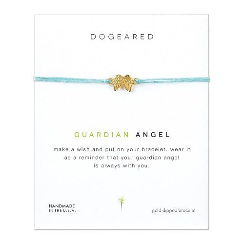 Dogeared Guardian Angel Wings On Blue Linen Make A Wish Bracelet (Gold Dipped) Dogeared http://www.amazon.com/dp/B00TUK6UQY/ref=cm_sw_r_pi_dp_7Ormvb174JXAG