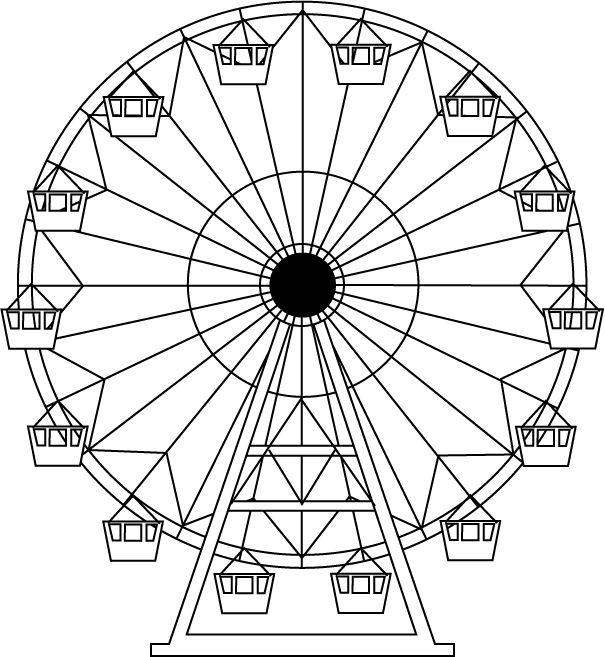 Ferris Wheel Drawing