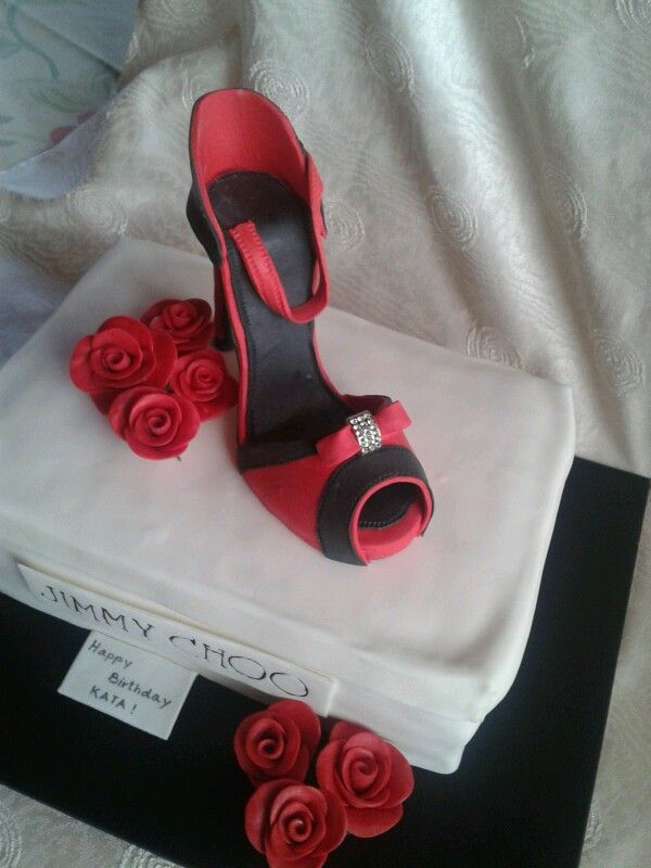 Cipő torta