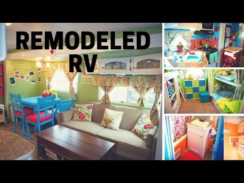 (30) Remodeled RV Tour - Full Time RV Family: 2008 Keystone Sprinter 311BHS - YouTube