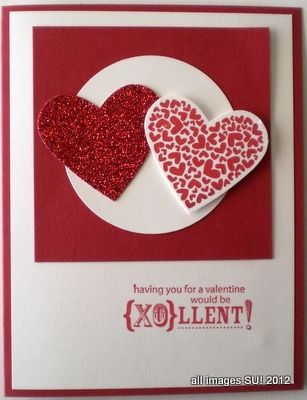 My Hand Made Valentine Card for
