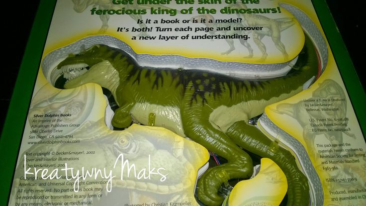 kreatywnyMaks: Budowa dinozaura T- REX