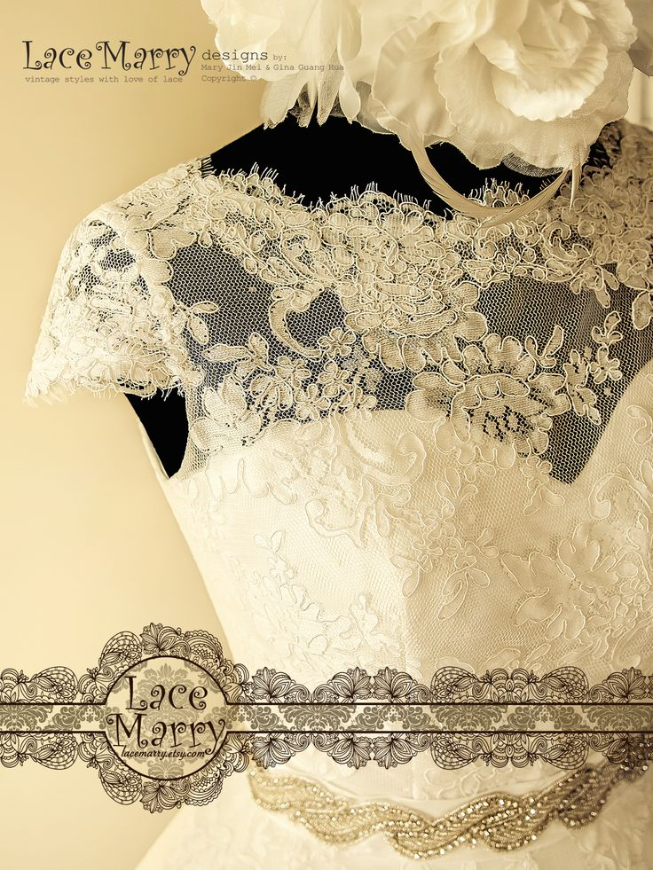 Small Cap Sleeves from Eyelash Lace are adding Modesty to the look!!!
