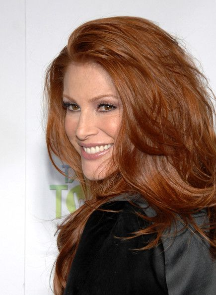 "Angie Everhart Photos - ""Take me home tonight"" Premiere. - Zimbio diagnosed with thyroid cancer in 2013 #thyroidcancer"