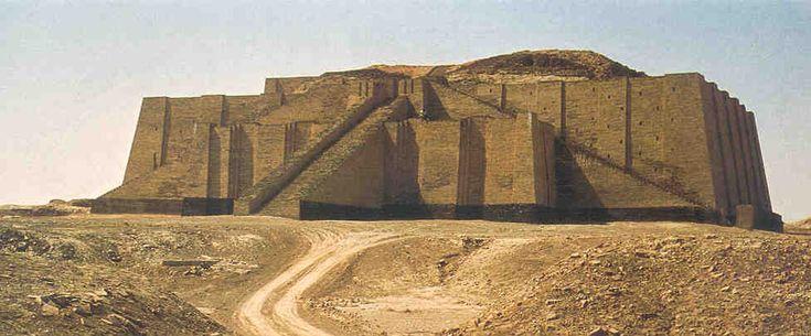 Ziggurat, | sumerian ziggurat the ziggurat was built by king ur nammu