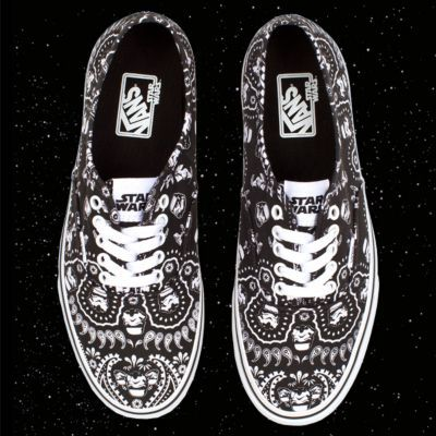 Vans Star Wars Collection | Storm Trooper bandana Authentics. I have these!!!!