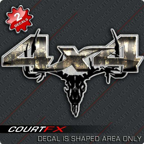 camo+truck+accessories | Truck 4x4 Archery Hunting Camo Decal Browning Mathews Hoyt |