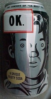 OK Soda - drink from The Coca-cola company, illustration by Charles Burns