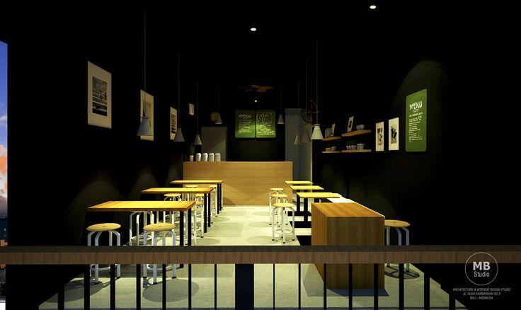 Small Cafe Design @Waturenggong Denpasar - Bali