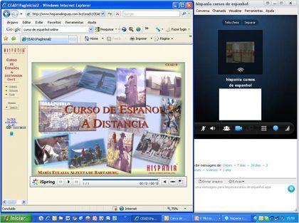curso de espanhol online com professor online ao vivo em tempo real