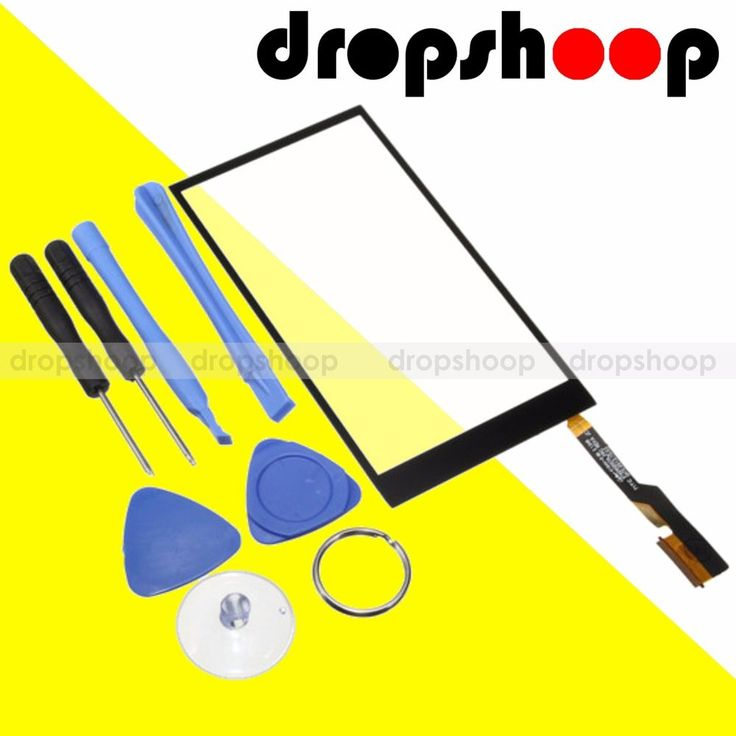 Front Glass Digitizer Touch Screen Lens + Tools Replacement For HTC One M8