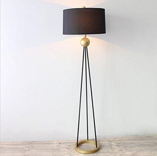 American Country Stehleuchte Wohnzimmer Couchtisch Eisen Gold Einfache  Kreatives Design Studio Zu Den Nordischen Lampen.