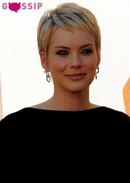 Beautiful Short Pixie Hairstyle