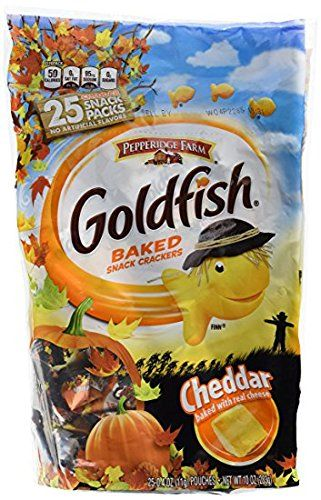 #Pepperidge #Farm #Goldfish #Crackers #Halloween #Snack #Packs, #Cheddar #Cheddar #goldfish #snack pack pouches with festive #Halloween graphics Healthier #snack for trick or treating Individually wrapped pieces, perfect for sharing https://food.boutiquecloset.com/product/pepperidge-farm-goldfish-crackers-halloween-snack-packs-cheddar/